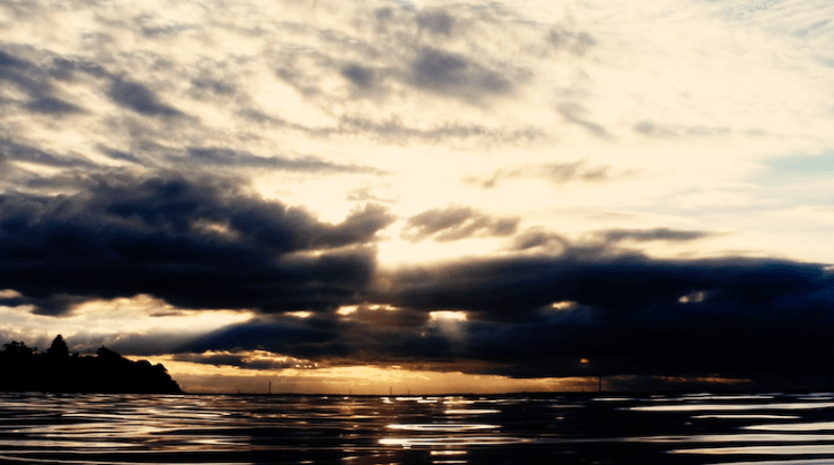 Wild Swimming Mornington Peninsula Port Phillip Bay Sunset