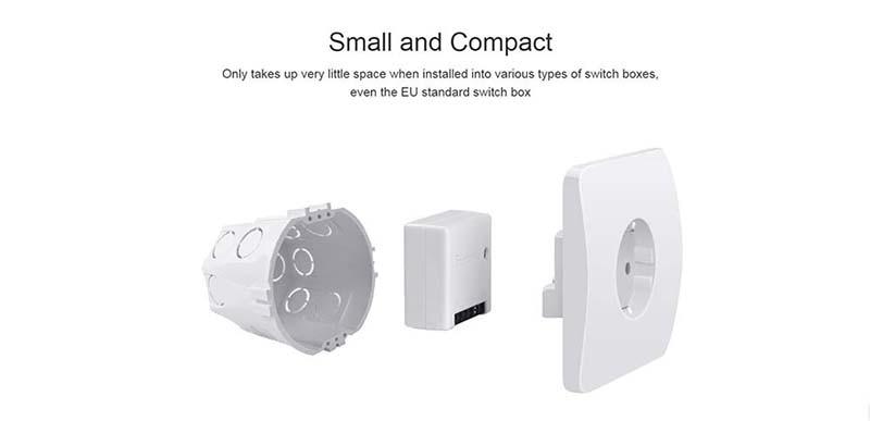 SONOFF MINIR2 Wifi Mini Switch Timer interruttori Wireless Smart Home Automation compatibile con eWelink Alexa Google Home
