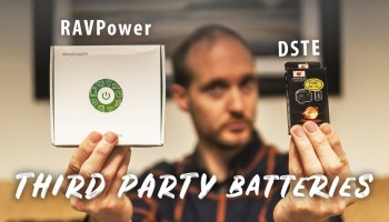 Third Party Batteries for Sony and Canon Cameras