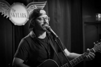 Trevor Ras at Skylark Cafe