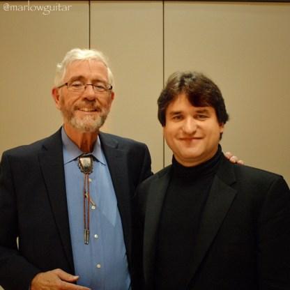 Tim Healy with Rene Izquierdo
