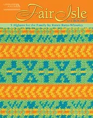 fair isle crochet cover