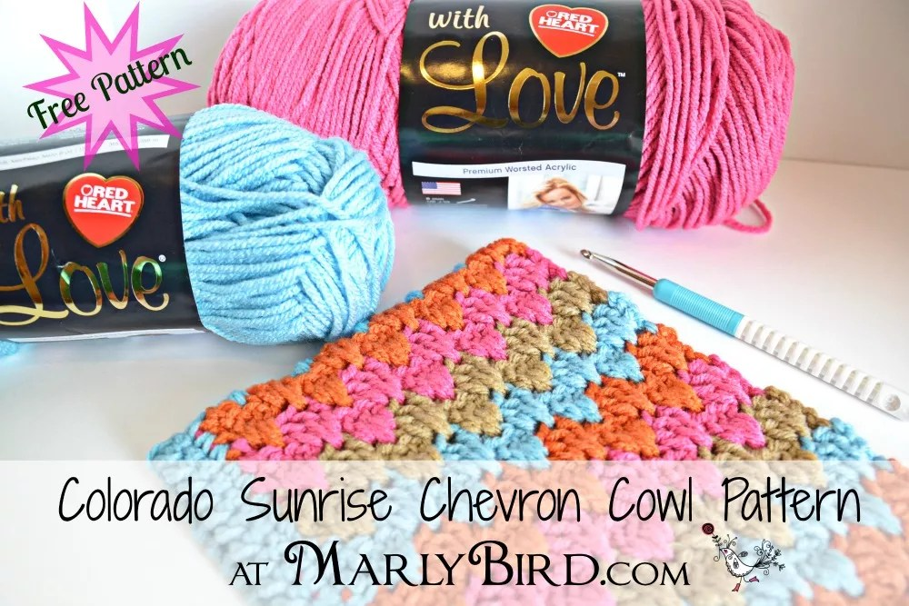 Long Double Crochet Chevron Stitch Pattern Marly Bird