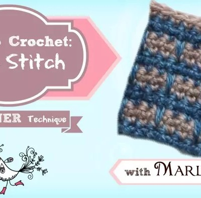 How to Crochet Spike Stitch