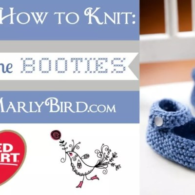 Knit Booties Baby Jane
