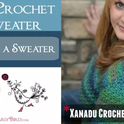 How to Seam a Crochet Sweater