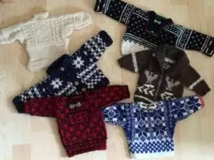 Little sweaters