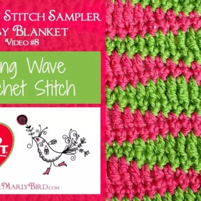 Long Wave Crochet Stitch