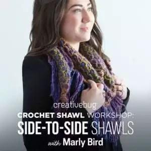 Crochet Shawl workshop with Marly Bird