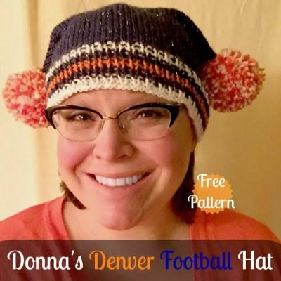 Donna's Denver Football Hat