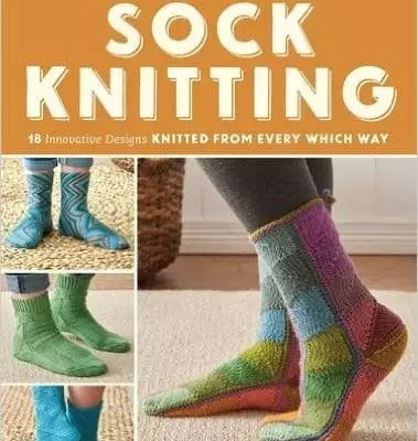 Ann Budd brings her new book New Directions in Sock Knitting