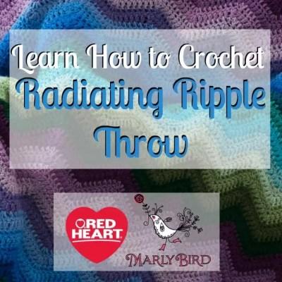 Radiating Ripple Stitch Pattern Video