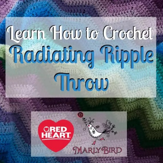 Learn How to Crochet the Radiating Ripple Throw