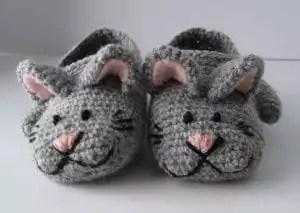 SZ Zoe the Cat slippers