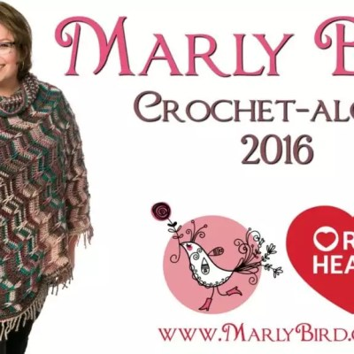 Marly Bird Poncho Crochet-along