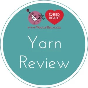 Yarn Review with Marly Bird of Red Hearts Scrubby Sparkle