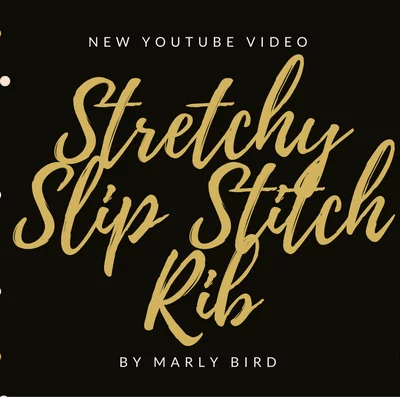Crochet Stretchy Slip Stitch Rib
