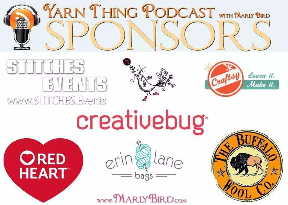 Yarn Thing Podcast with Marly Bird Sponsors