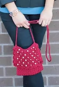 Red Hot Purse by Marly Bird