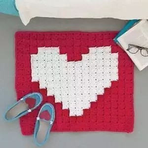 First Crush Bath Mat by Marly Bird