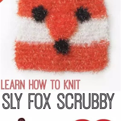 How to Knit Sly Fox Scrubby