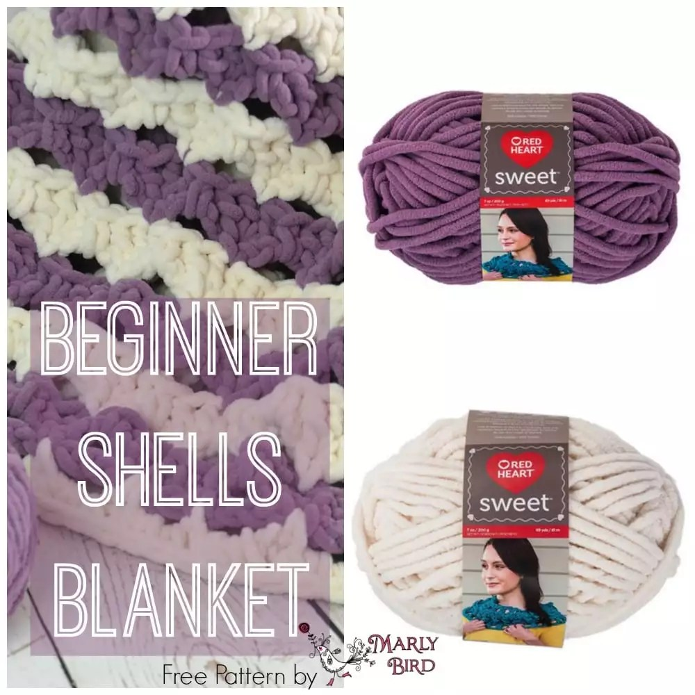 Beginner Shells Blanket