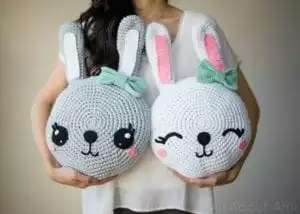 Snuggle Bunny Pillows