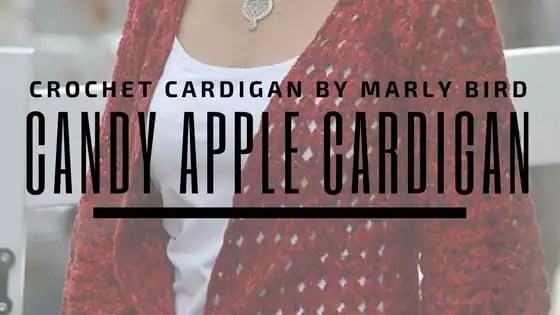 Candy Apple Cardigan
