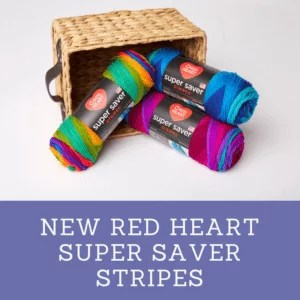 Red Heart Super Saver Stripes