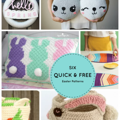 6 Quick and Free Crochet Easter Patterns