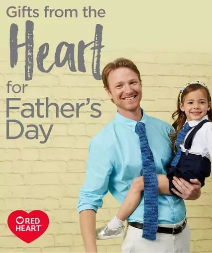 Red Heart Father's Day Patterns