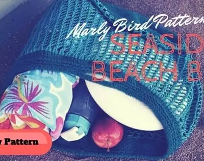 Seaside Knit Beach Bag