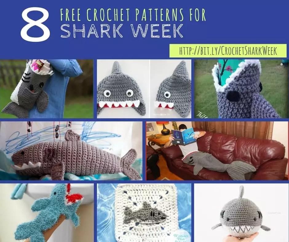 Crochet Shark Amigurumi | Crochet shark, Amigurumi shark ... | 788x940