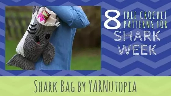 Shark Bag by YARNutopia