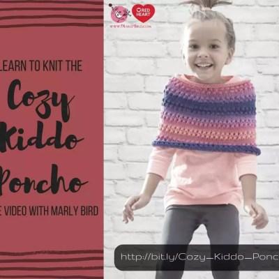 Knitting the Cozy Kiddo Poncho