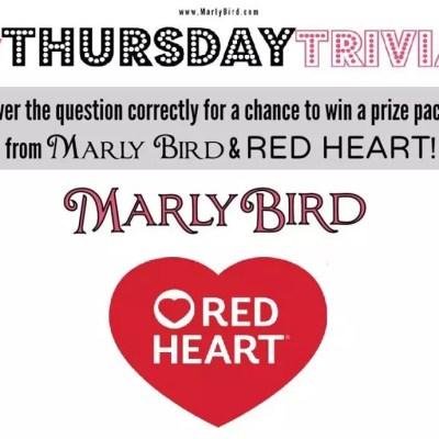Thursday Trivia with Marly Bird 9/21/17 to 9/27/17