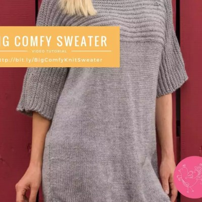 My First Big Comfy Sweater with Marly Bird