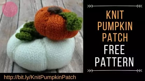 FREE Knit Pumpkin Pattern by Marly Bird