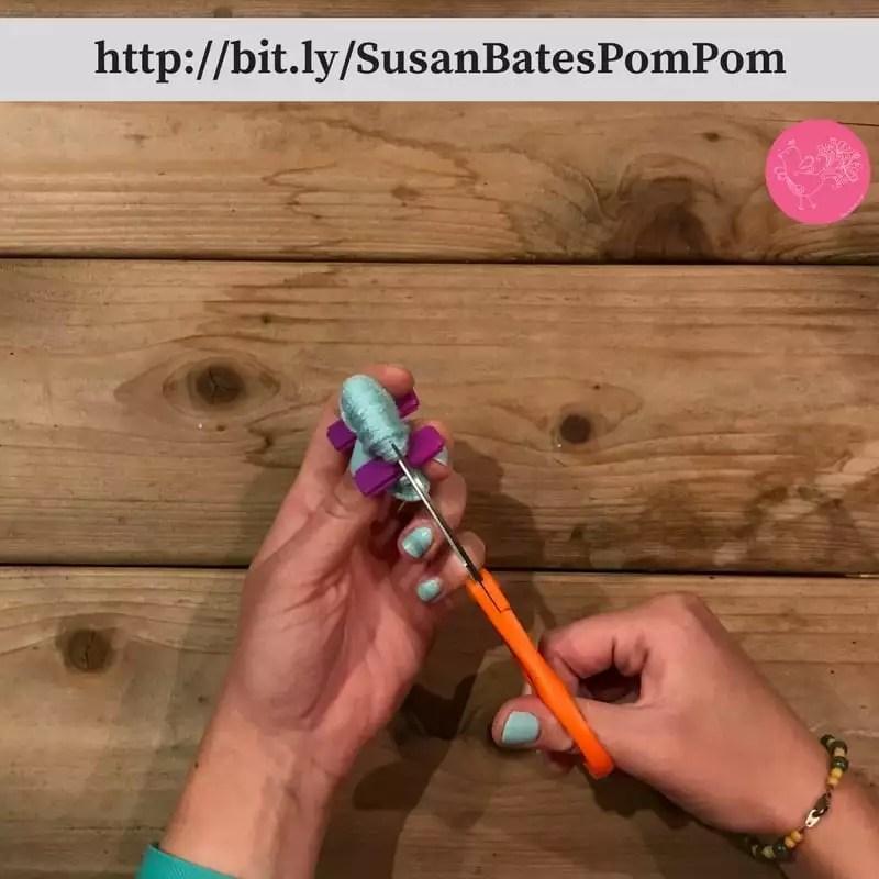 Photo Tutorial How to Making Pom Poms with the Susan Bates Pom Pom Maker
