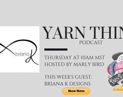 Briana K Designs and Marly talk Infinity Crochet