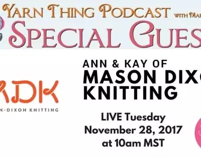 Chat with Mason Dixon Knitting and Marly Bird