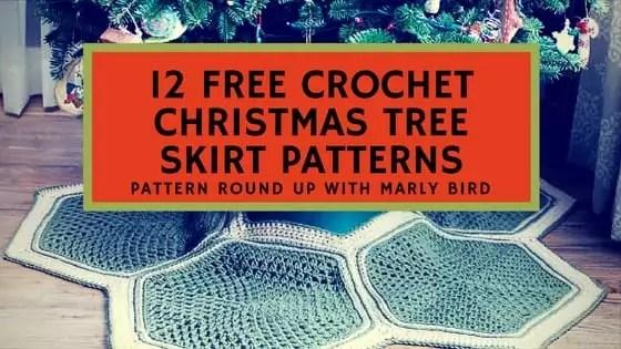 Christmas Tree Skirt Patterns Free.12 Free Crochet Christmas Tree Skirt Patterns Marly Bird