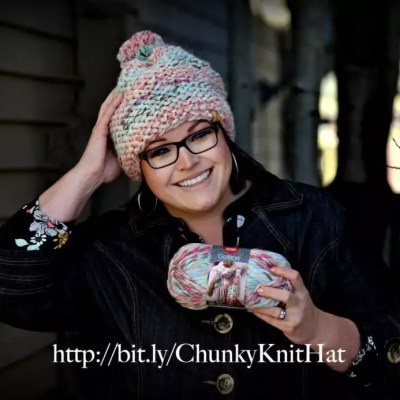 Absolute Beginner Chunky Knit Hat
