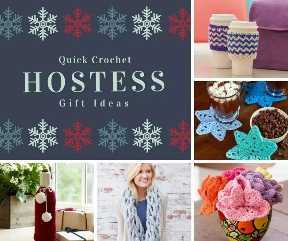 Quick Crochet Hostess Gift Ideas