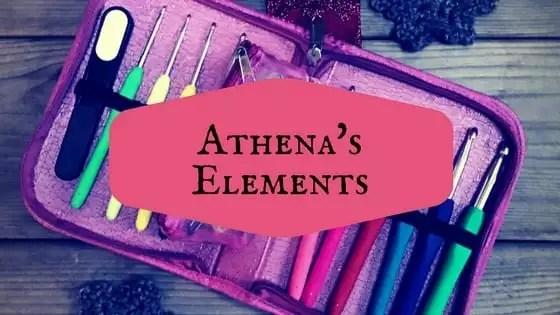Athena's Elements Crochet Hook Cases
