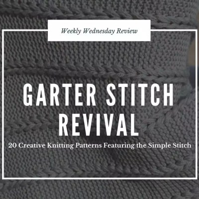 Garter Stitch Revival Review and Giveaway