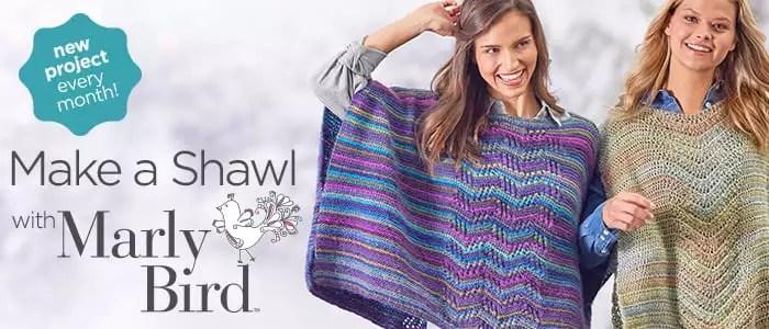 Make a Shawl with Marly Bird