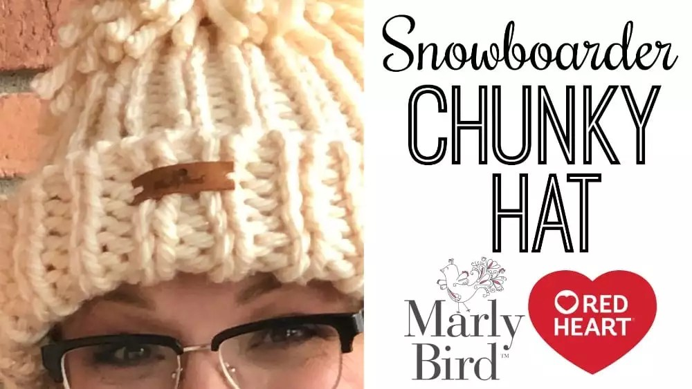 Snowboarder Chunky Hat