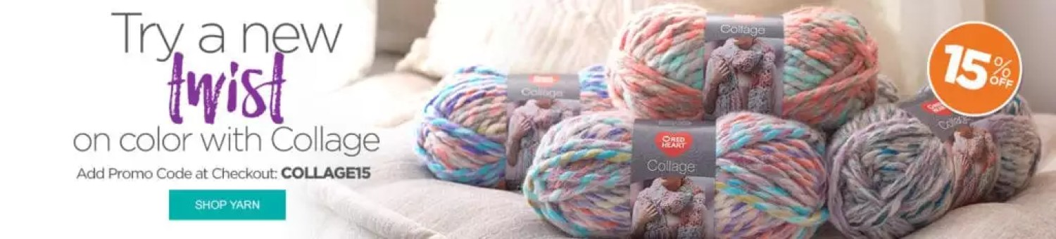 Red Heart Collage Yarn-15% off with code COLLAGE15