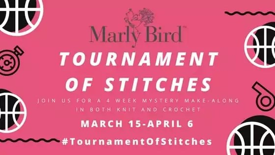 Marly Bird Tournament of Stitches Mystery Make-along